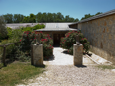 Entrance to the Garden Room, Salt Lick BBQ