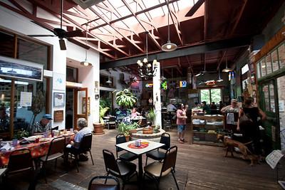 Inside Guero's Tacos