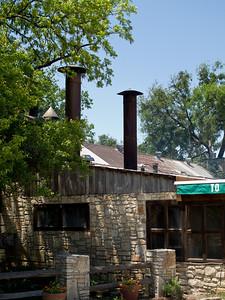 Smokestacks at Salt Lick BBQ