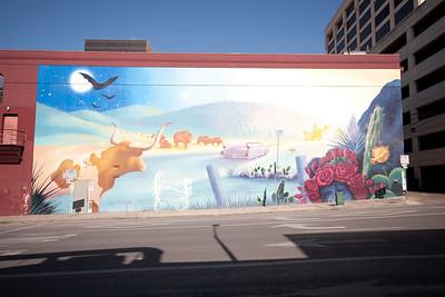 Mural at San Jacinto and Sixth