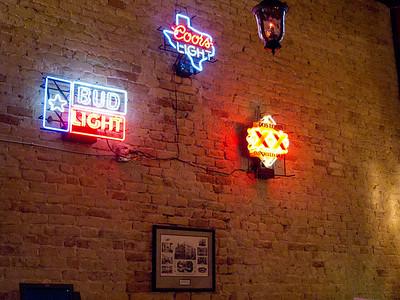 Beer Neon in the Beale Street Tavern
