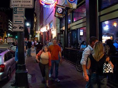 6th Street at Night
