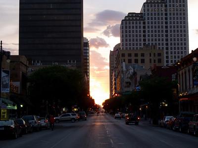 Sunset On 6th Street