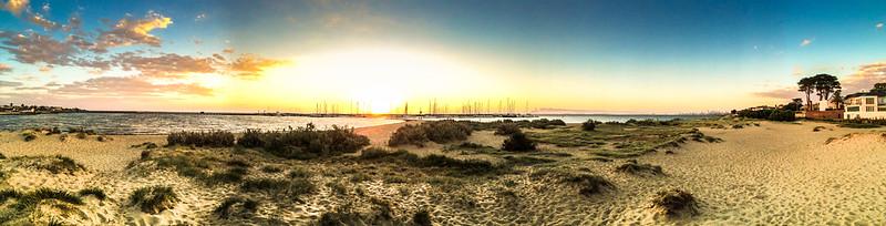 Melbourne from Brighton Beach