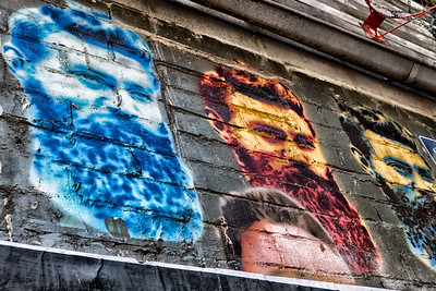 Melbournians are very proud of their painted alleys