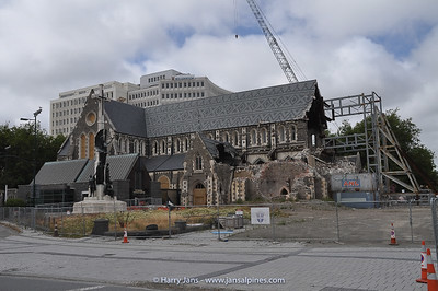 what is left of the famous Cathedral