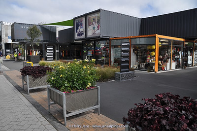 shipping container center in Christchurch