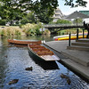 the river Avon by boat