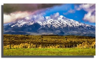 Snow-covered Peak, North Island