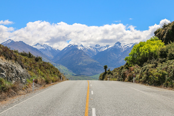 Road to Mount Aspiring