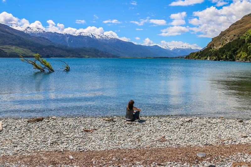 Lake Wanaka Mountains
