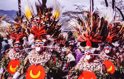 Chest Plates, Hagen Show, Papua New Guinea, 2003