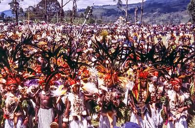 Astrapia Crowd, Hagen Show, Papua New Guinea, 2003