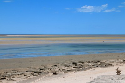 Outback at the sea. Gulf of Carpentaria. Karumba Point, Queensland.