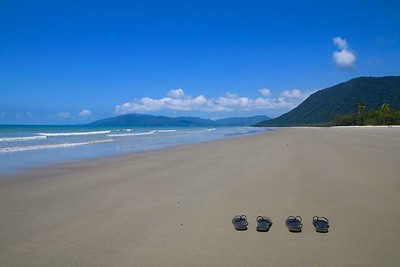 Noah Beach, Daintree National Park. Queensland, Australië.