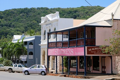 Charlotte Street @ Cooktown. Queenstown, Australië.