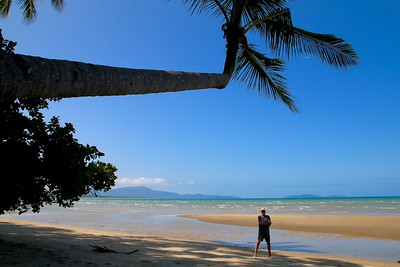 Wonga Beach, Daintree National Park. Queensland, Australië.