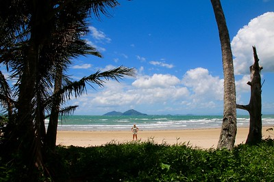 Dunk Island view @ Mission Beach. Mission Beach, Queensland, Australië.