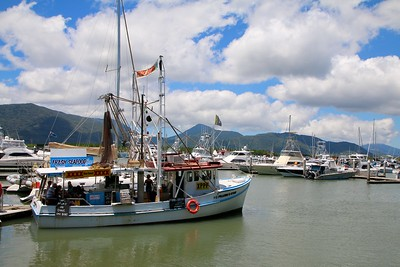 Cairns Harbour. Cairns, Queensland, Australië.