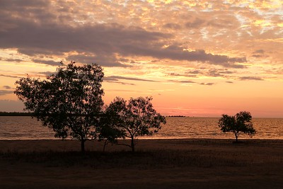 Sunset @ Gulf of Carpentaria. Karumba Point, Queensland.