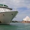 Sydney Opera House, Sydney Harbour.<br /> Sydney, New South Wales, Australië.