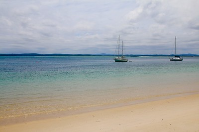 Nelson Bay. Port Stephens, New South Wales, Australië.