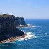 Cliffs @ North Head.<br /> Sydney, New South Wales, Australië.