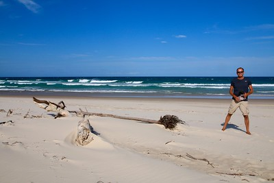 Lighthouse Beach @ Ballina. New South Wales, Australië.