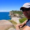 Cliffs @ South Head.<br /> Sydney, New South Wales, Australië.