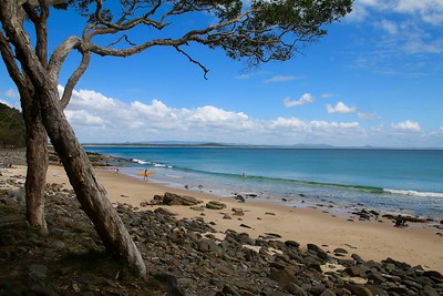 Tea Tree Bay @ Noosa Heads National Park. Noosa, Sunshine Coast, Queensland, Australië.