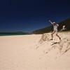 Uit de serie: 'Jump!'<br /> Zenith Beach, Port Stephens, New South Wales, Australië.