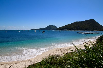 Shoal Bay. Port Stephens, New South Wales, Australië.