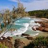 First Bay, Coolum Beach.<br /> Sunshine Coast, Queensland, Australië.