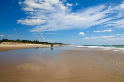 Coolum Beach. Sunshine Coast, Queensland, Australië.