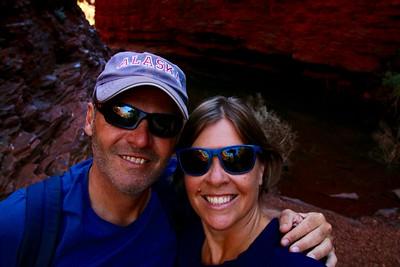 Weano Gorge,  Karijini NP, Pilbara. WA, Australië.