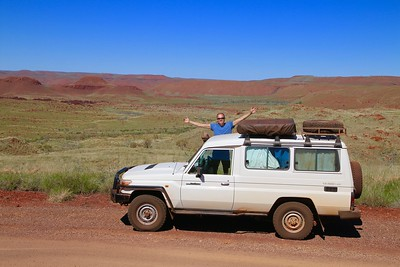 Chichester Range @ Millstream Chichester NP. Pilbara, WA, Australië.