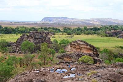 Nadab Valley from Ubirr Rock @ Kakadu National Park. Top End,  Northern Territory, Australië.