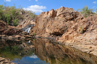 Upper Edith Falls @ Nitmiluk National Park. Top End, Northern Territory, Australië.