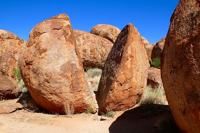 Devils Marbles. Red Center,  Northern Territory, Australië.
