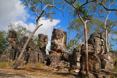 The Lost City @ Litchfield National Park. Top End, Northern Territory, Australië.