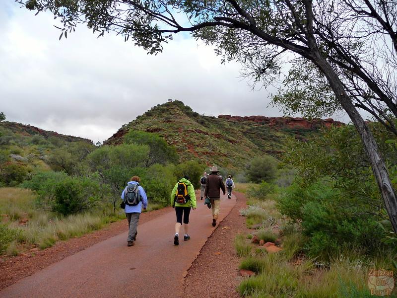 Kings Canyon Hike - Australia 1