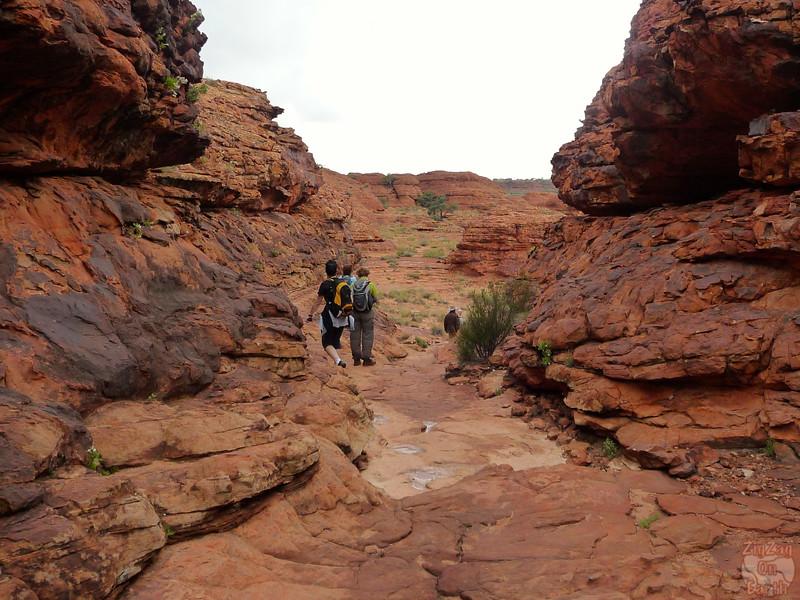 Kings Canyon Hike - Australia 3