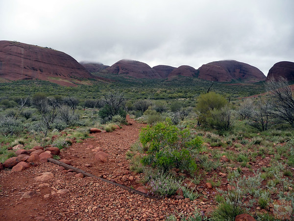 Valley of the Wind walk Kata Tjuta photo 8
