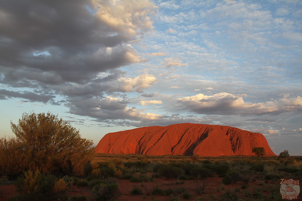 Sunset Uluru photo 2
