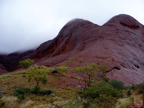 Valley of the Wind walk Kata Tjuta photo 2