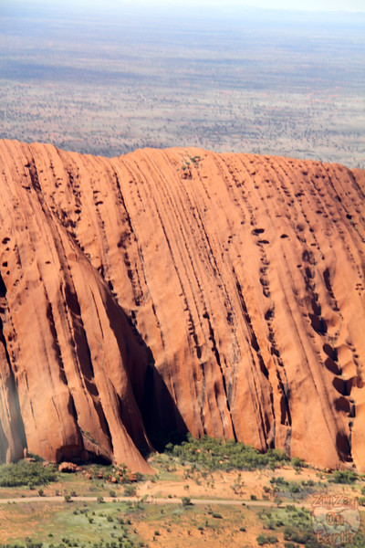 Helicopter flight over Uluru photo 3