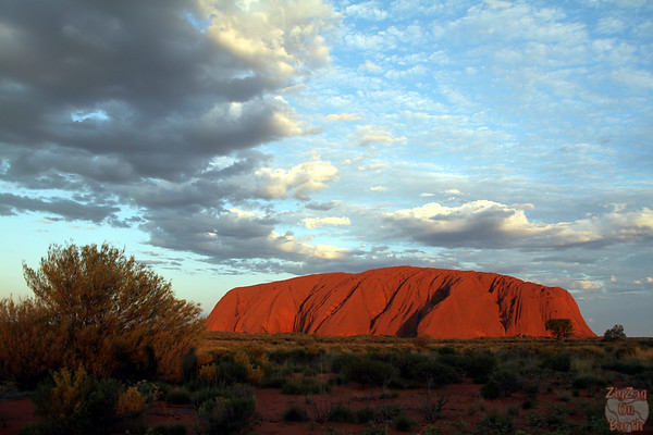 Sunset at Uluru, Australia