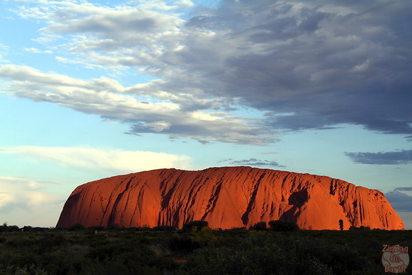 Sunset Uluru photo 5