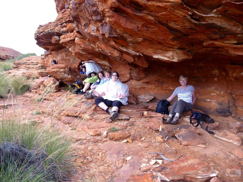 Kings Canyon Hike - Australia 5