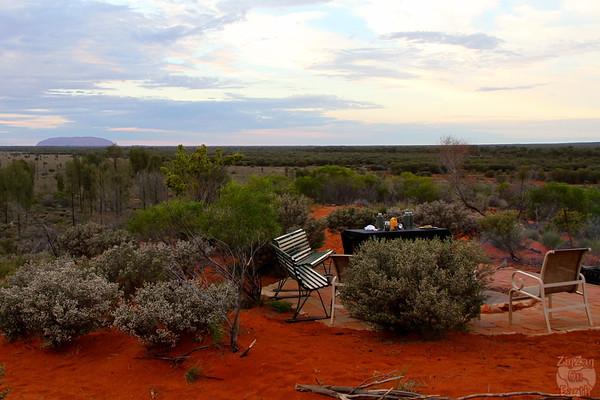 Desert Awakering Uluru red centre photo 2